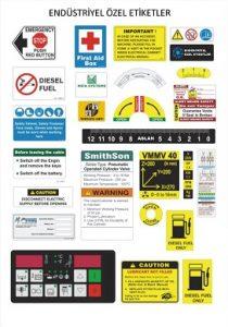 PVC Çıkartma Etiket