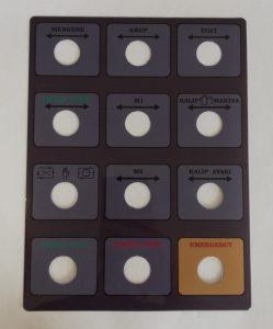 Leksan Etiket - Leksan Kontrol Paneli